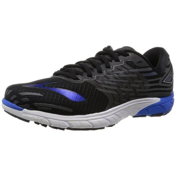Chaussures de Running BROOKS PureCadence 5 pour Homme -Noir, Bleu et Anthracite