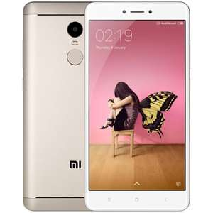 "Smartphone 5.5"" Xiaomi Redmi Note 4X Or - Snapdragon 625, RAM 3 Go, ROM 32 Go (Sans B20) + 35.37€ en SuperPoints"
