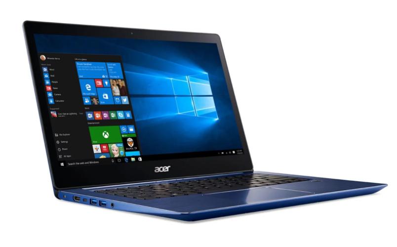 """PC Portable 14"""" Acer Swift 3 SF314-52G-55XD - Full HD, Intel Core i5-8250U, SSD 256 Go, RAM 8 Go, GeForce MX150 2 Go"""