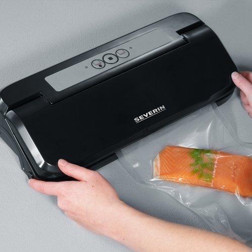 Severin FS3609 Soude sac et mise sous-vide pour cuiseur 170 W Noir/Argent