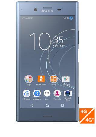 """Smartphone 5.2"""" Sony Xperia XZ1 bleu gris (via ODR de 100€)"""