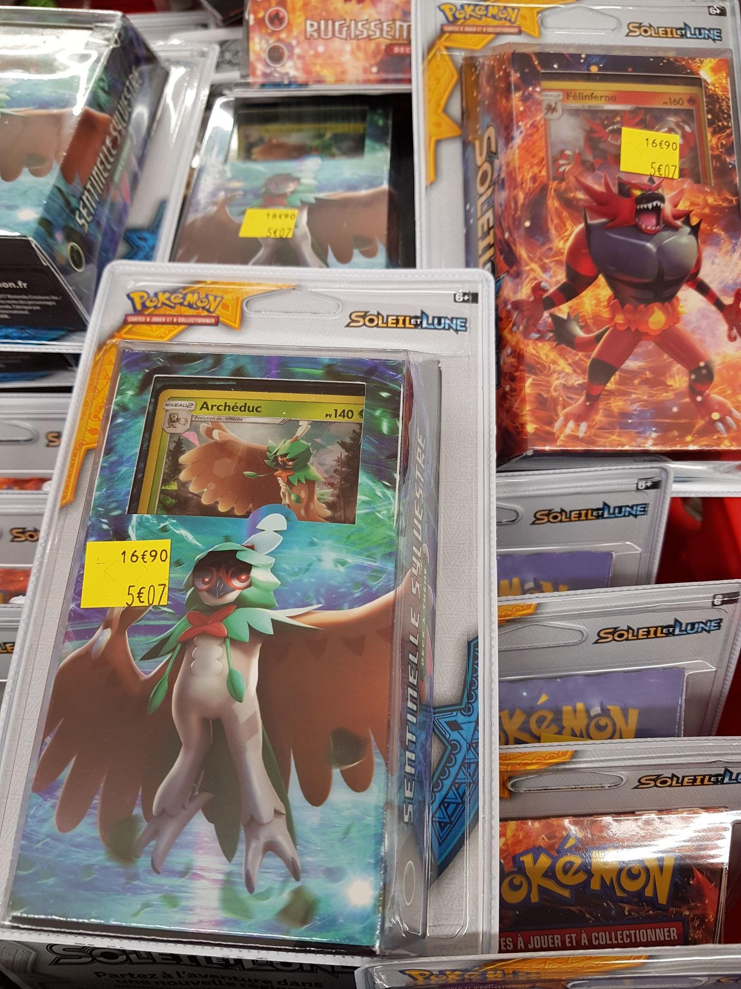 Pack carte Pokemon Soleil et Lune - Champs sur Marne (77)