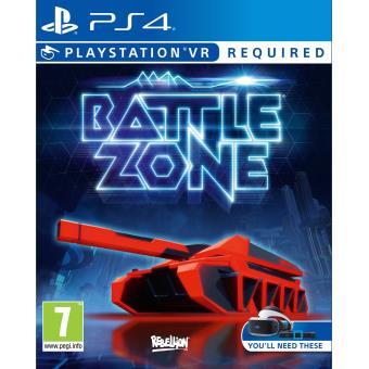 Battle Zone PS4 VR + Steelbook offert