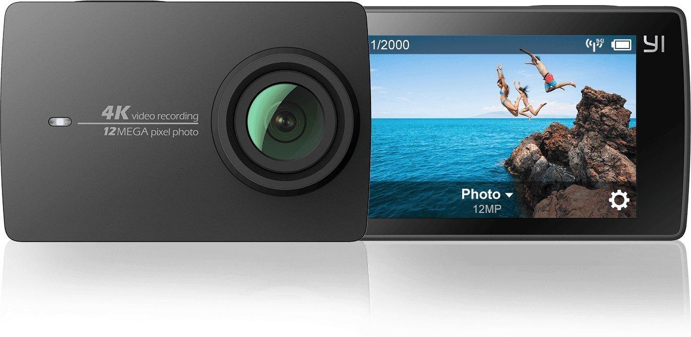 Caméra sportive YI (Noir) - 4K 30 fps / 1080p 120 fps, 12 MP (vendeur tiers)