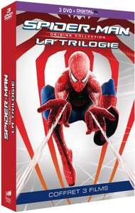 Coffret DVD : Trilogie Spider-Man - Collection Origines (+ copie digitale)