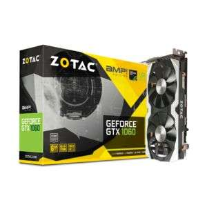 Carte graphique Zotac GeForce GTX 1060 AMP! Edition 6 Go - Reconditionné