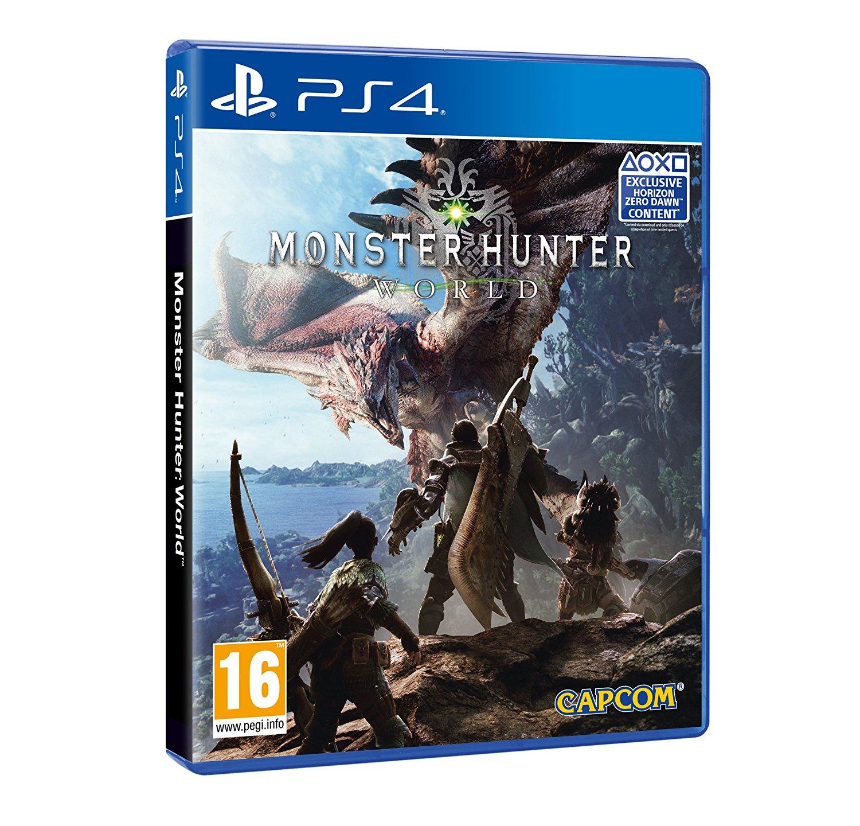 Monster Hunter: World sur PS4 (et Xbox one) + Bonus DLC + Porte-clés