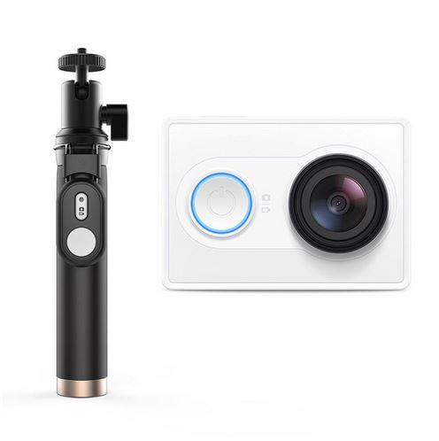 Caméra d'Action Xiaomi Yi 2K - Coloris au choix + Perche à Selfie