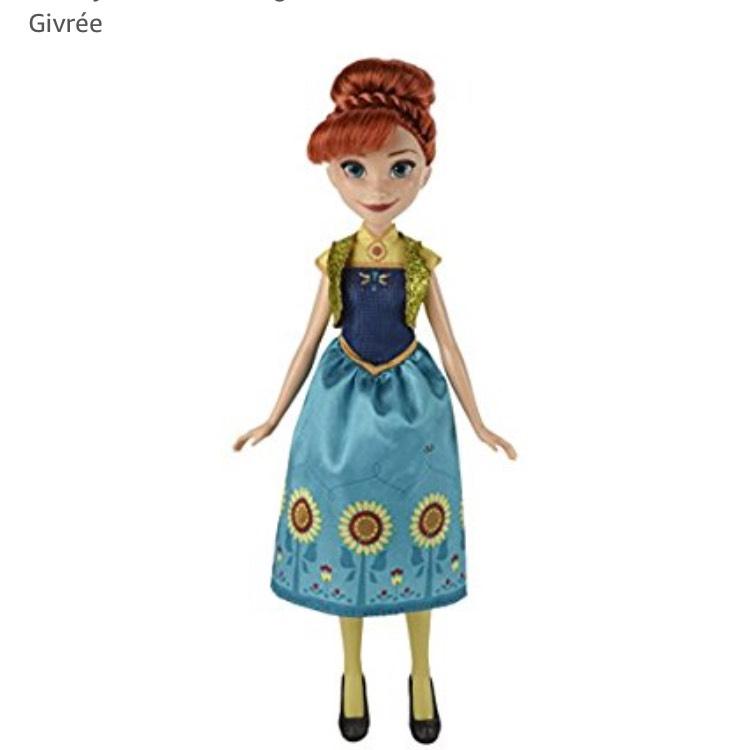 [Panier Plus] Disney Reine Des Neiges - B5166es20 - Frozen - Anna Fête Givrée