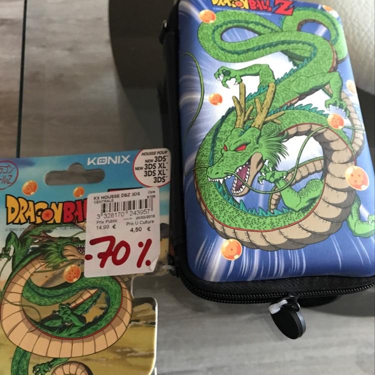 Sélection de produits en promotion - Ex : housse de protection pour console Nintendo 3DS Konix Dragon Ball Z au Hyper U Châteaugiron (35)