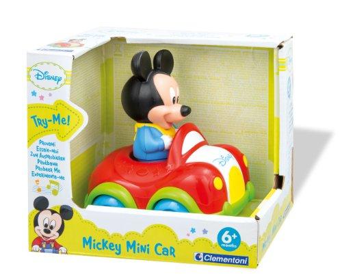 Voiture musicale Clementoni Bébé Disney - Voiture musicale Mickey