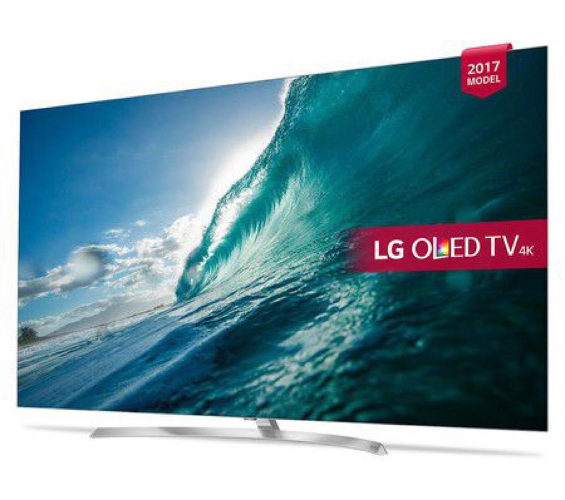 "TV 55"" LG 55B7V - 4K UHD, OLED, smart TV (via ODR de 200€) au E.Leclerc Culturel MOULINS (03)"