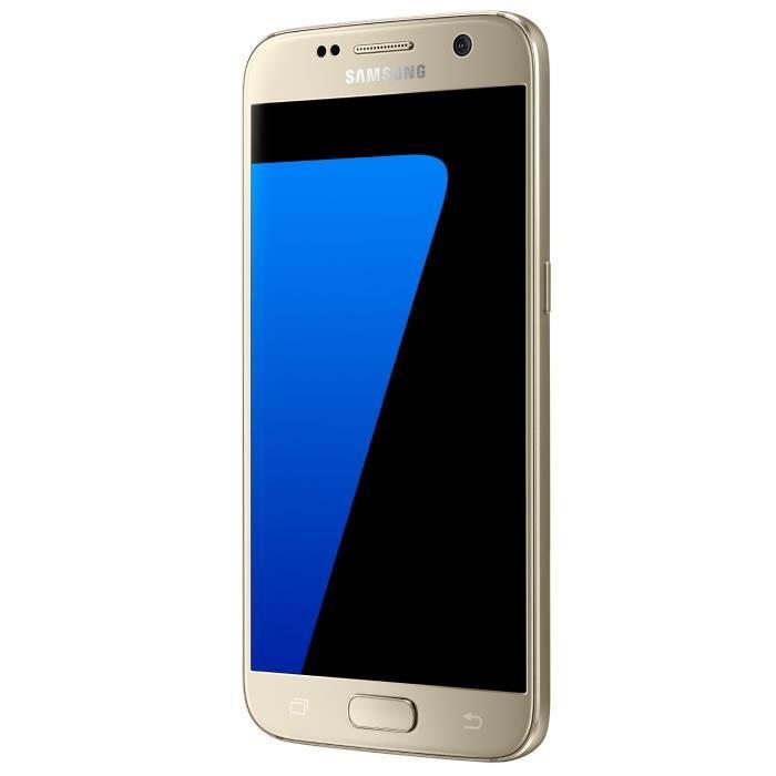 """Smartphone 5.1"""" Samsung Galaxy S7 - Exynos 8890, 4 Go de RAM, 32 Go, différents coloris (via ODR de 70€)"""