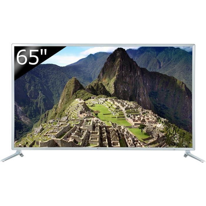 "TV 65"" Continental Edison - 4K UHD, 165cm"