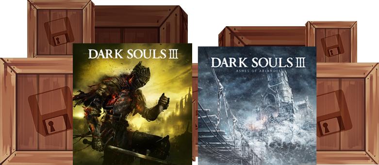 Humble Monthly Bundle : Dark Souls III + Ashes of Ariandel DLC   + 7 jeux sur PC (Dématérialisés - Steam)