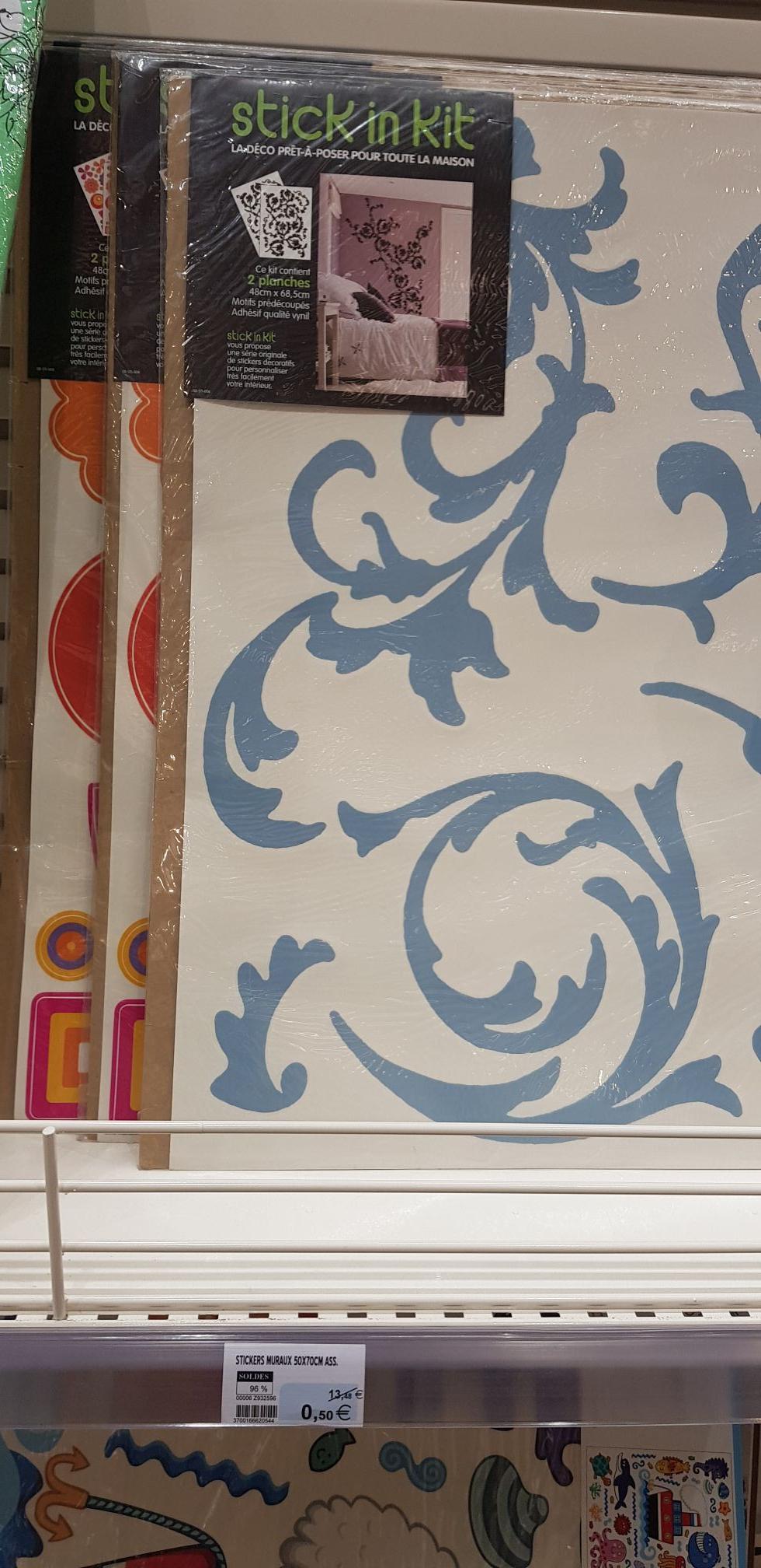 Kit de Stickers muraux - 2x50x70 - SuperU de L'Arbresle (69)