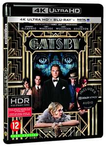 Blu-ray 4K UHD + Numérique : Gatsby le magnifique (Vendeur tiers)