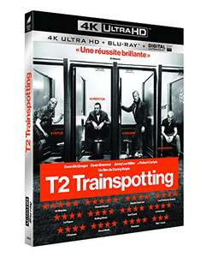 Blu-ray 4K UHD + numérique : T2 Trainspotting