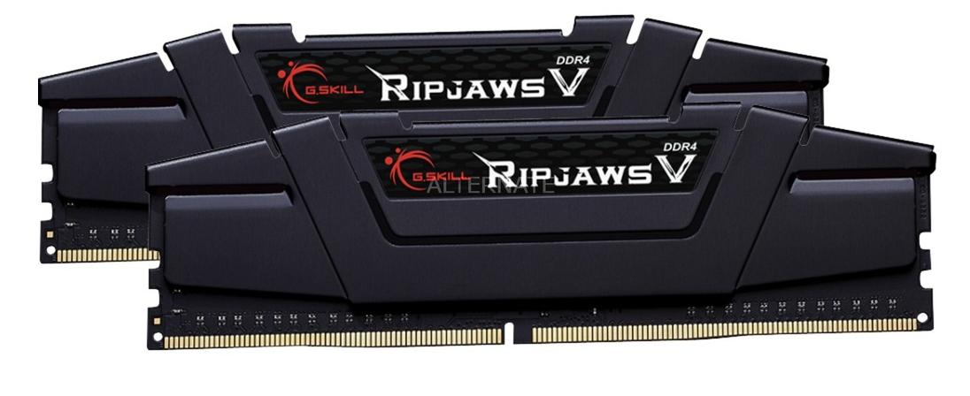 Kit mémoire Ram DDR4 Gskill Ripjaws V 16 Go (2x8 Go) - 3200mhz