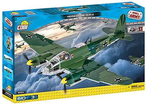 Jeu de Construction Cobi - 5534 - Heinkel He 111 P-4