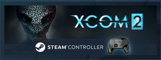 Xcom 2 sur PC (Dematerialisé) + Steam Controller