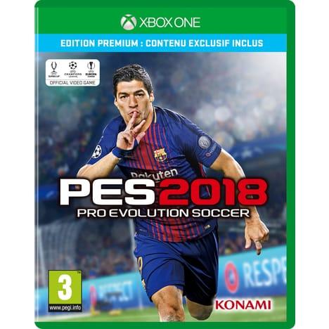 Pro Evolution Soccer (PES) 2018 - Édition Premium sur Xbox One