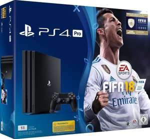 Pack Console PS4 Pro (Noir) - 1 To + Fifa 18