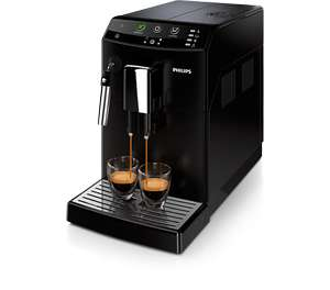 Machine Broyeur à Café Philips HD8824/01 Série 3000 Espresso Super Automatique - Noir