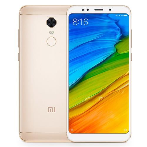 "Smartphone 5.99"" Xiaomi Redmi 5 Plus - Snapdragon 625, ROM 32 Go, RAM 3 Go, 4G (avec B20), Gold"
