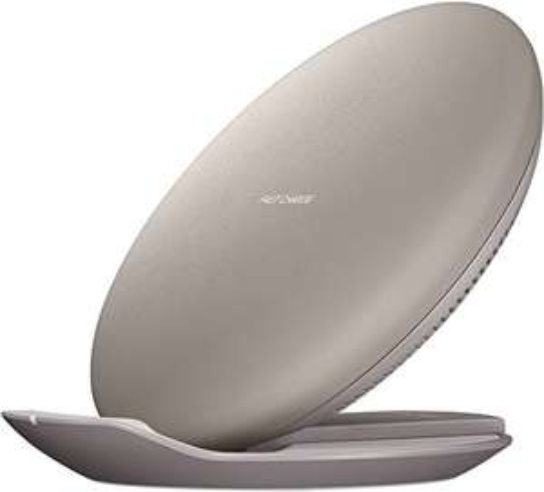 Chargeur sans fil à induction Samsung - Charge Rapide, 2 Positions, Marron (via ODR de 20€)