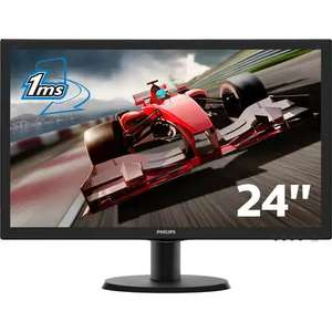 "Ecran PC 24"" Philips 243V5LHSB5/00 - LED, Full HD, 1 ms, Dalle TN"