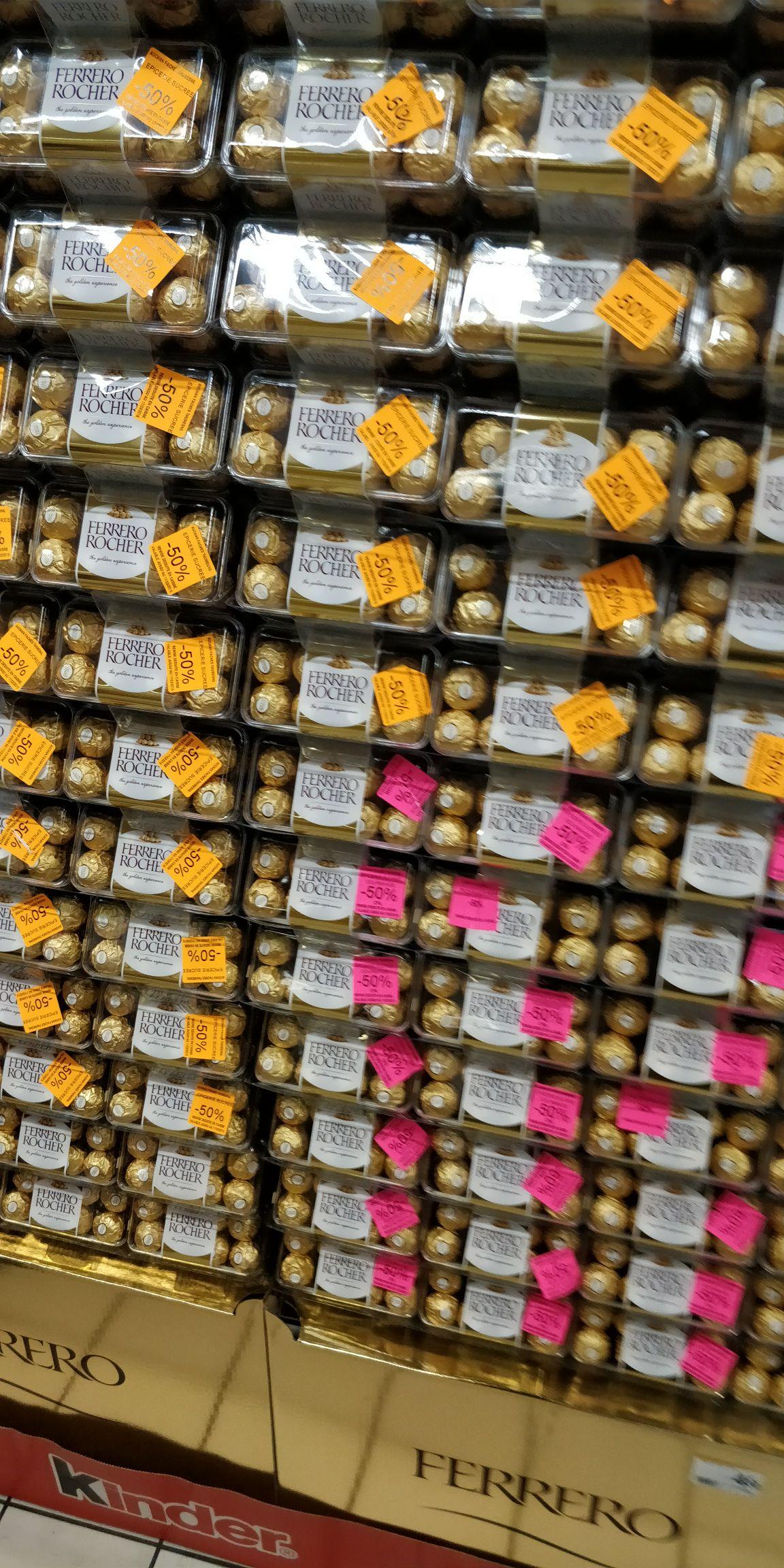 Boîte de 16 Ferrero Rocher - Faches