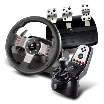-30% sur une sélection de produits Logitech Gaming - Ex : Équipement de simulation automobile PC Logitech G27 Racing Wheel pour  PC à 167.93€