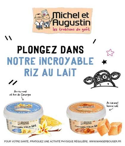 Pot de L'incroyable Riz au Lait Michel et Augustin - 400g (via BDR et remboursement) - Tous les marchands