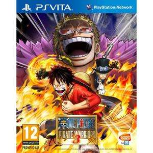 Sélection de Jeux PS Vita en Soldes - Ex: One Piece : Pirate Warriors 3