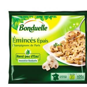 Sachet surgelés champignon émincés épais Bonduelle - 600g (via 1.17€ fidélité)