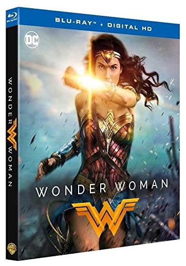 Sélection de DVD/Blu-Ray en promotion - Ex : Blu-ray Wonder Woman