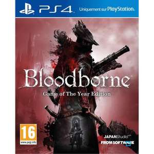 Jeu Bloodborne sur PS4 - Edition Game of the year