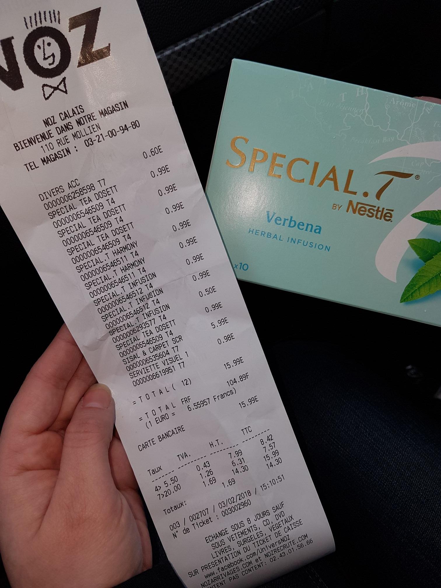 Dosette Special T Nestle - Calais (62)