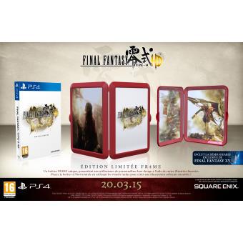 Final Fantasy Type 0 HD Edition Frame sur PS4 (Inclus la démo de Final Fantasy 15, l'épisode Duscae)