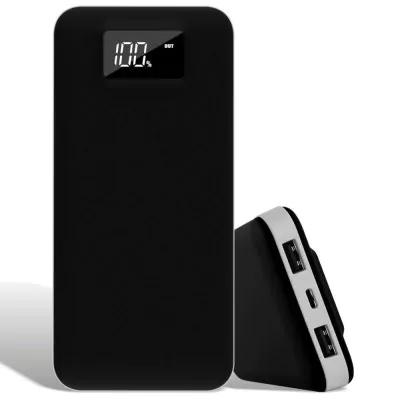 Batterie Externe Powerbank Noir avec affichage LCD - 20000mAh