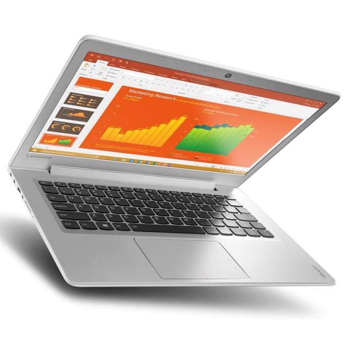"PC Portable 13,3"" Lenovo 510S-13IKB - Full HD, i7-7500U, RAM 8 Go, SSD 256 Go, Windows 10"
