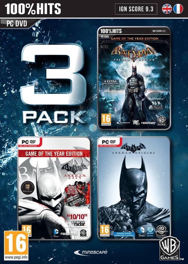 20% de réduction supplémentaire sur les promotions - Ex: Batman Triple Pack: Batman Arkham Asylum GOTY + Batman Arkham City GOTY + Batman Akham Origins