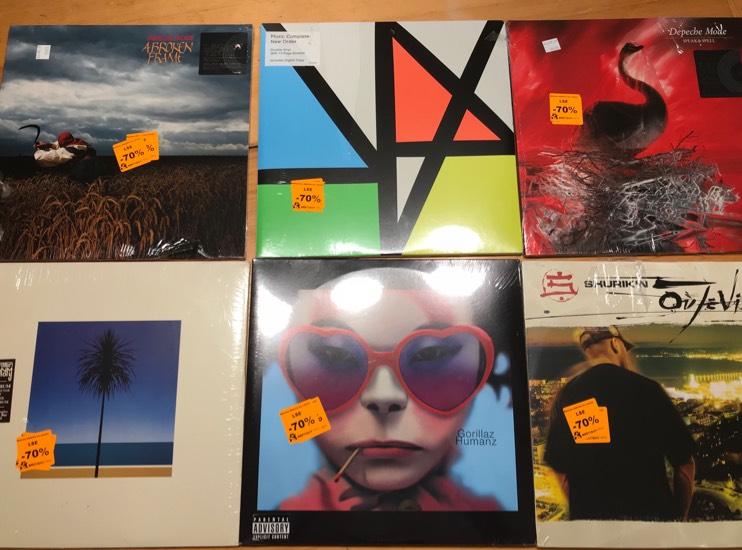Sélection de vinyles à -70% - Ex : Shurik´n «Oú Je Vis» - Bretigny (91)
