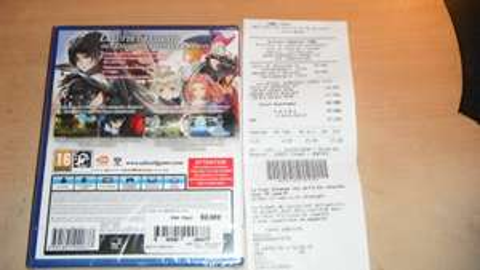 Jeu Tales of berseria sur PS4 - Lille (59) (mais Deal visiblement national )