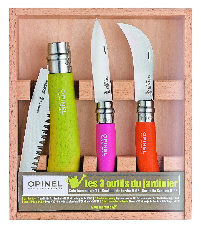 Coffret de 3 outils de jardin Opinel