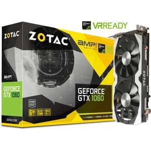 Carte graphique Zotac GeForce GTX 1060 AMP! Edition - 6 Go