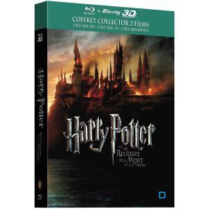 Blu-ray 3D Harry Potter et Les Reliques de la Mort 1 & 2