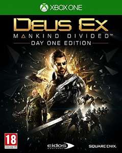 Jeu Deus Ex : Mankind Divided - édition day one sur Xbox One