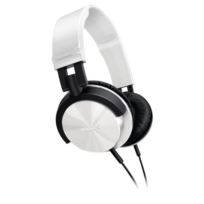 Casque audio Philips SHL3000 - Noir ou blanc